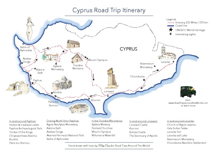 Adonis Baths: How to cool off in Cyprus - Road Trips around