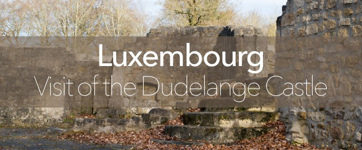 Visit of the ruins of the Dudelange Castle – Luxembourg