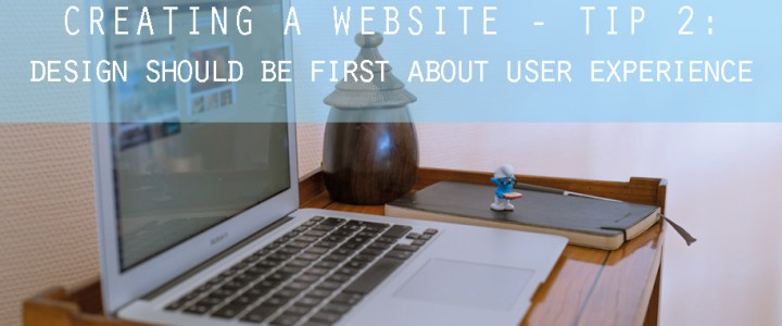How to create a Website – Part 2 – Design your Website