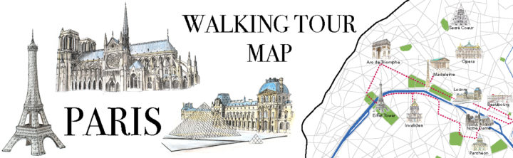 Paris Map - Free to download - Only on Road Trips around the World - www.RoadTripsaroundtheWorld.com