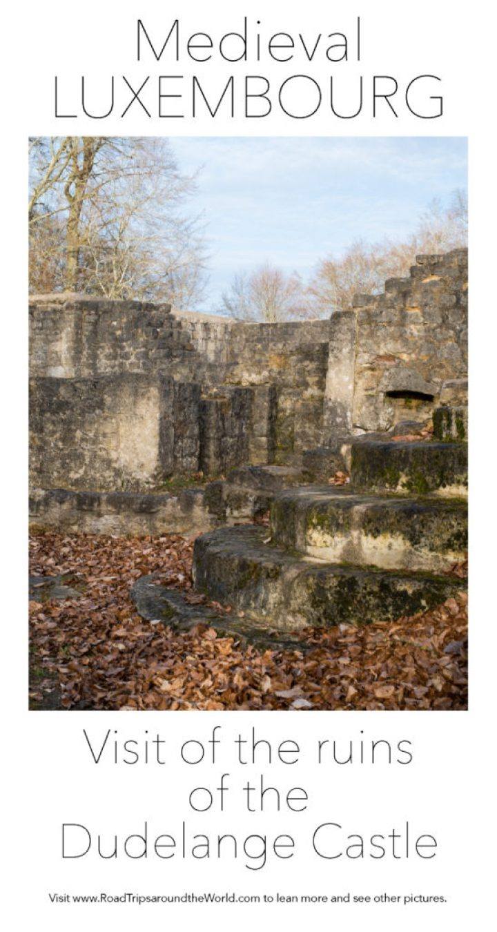 Visit of the ruins of the Dudelange castle in Luxembourg. Learn more on RoadTripsaroundtheWorld.com