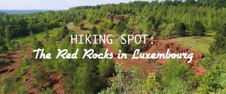 Hiking in the Red Rocks: one of Luxembourg many gems!