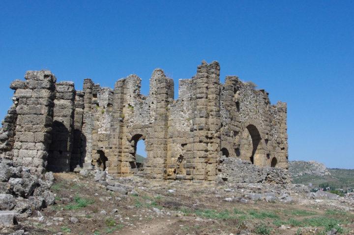 Aspendos basilica, Turkey - www.RoadTripsaroundtheWorld.com