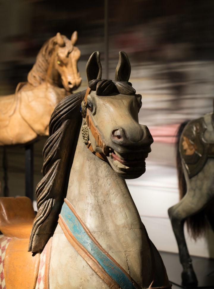 A Wood horse - Chateau de Chantilly, France - www.RoadtripsaroundtheWorld.com