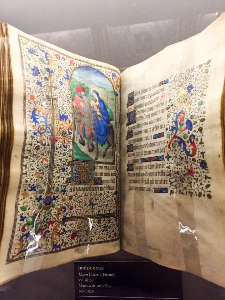 Manuscrit at the Chateau de Chantilly, France - www.RoadtripsaroundtheWorld.com