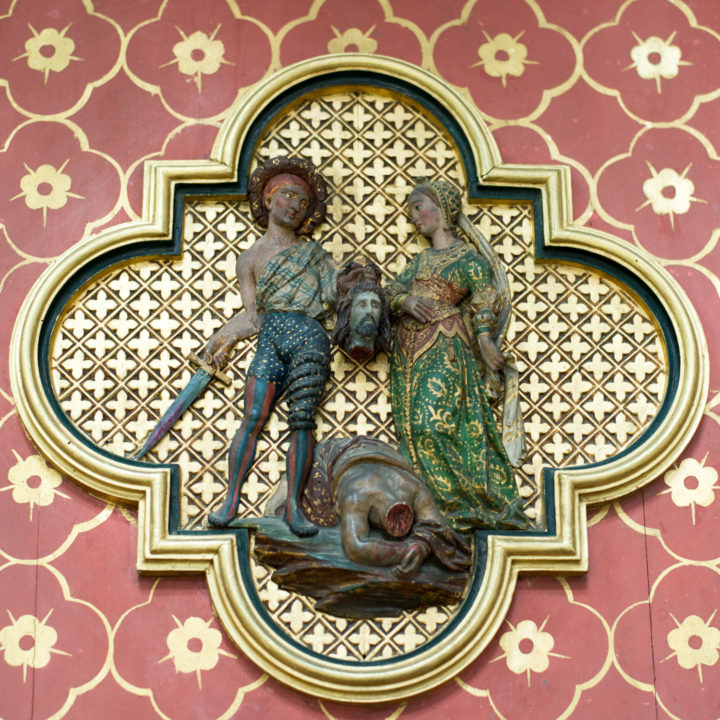 Quatrefoil behading - Amiens Cathedral, France - www.RoadTripsaroundtheWorld.com