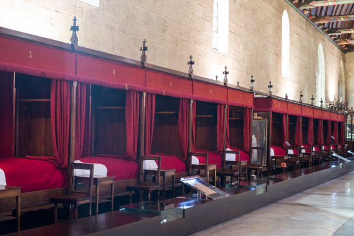 The Grand Hall - Hospices of Beaune, burgunday - France - www.RoadTripsaroundtheWorld.com