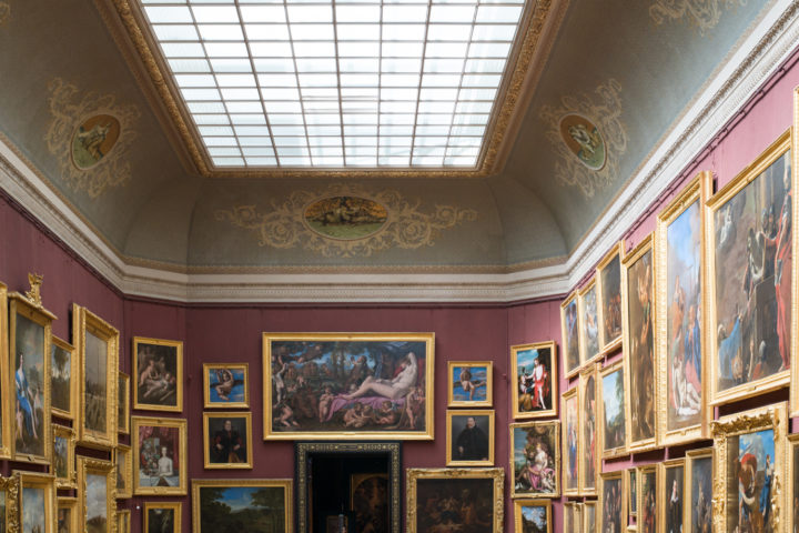 The painting Gallery - Chateau de Chantilly, France - www.RoadtripsaroundtheWorld.com