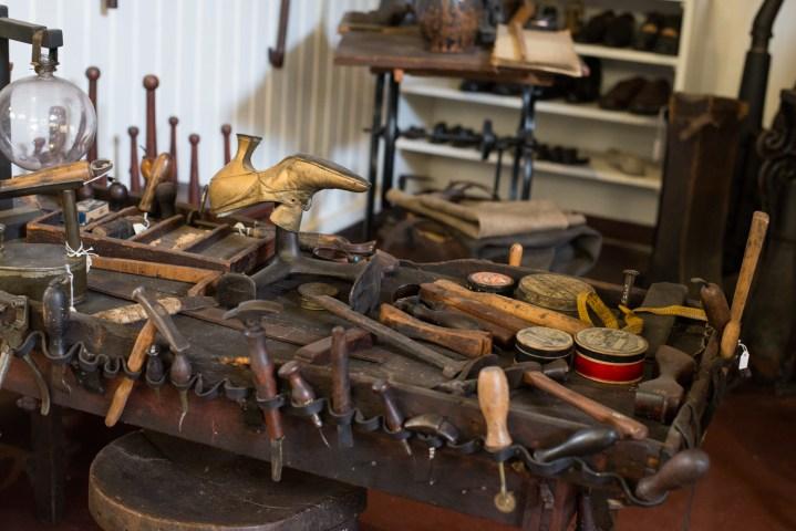 Stevns museum - Shoe maker tools - Stevns Klint, Denmark - www.RoadTripsaroundtheWorld.com