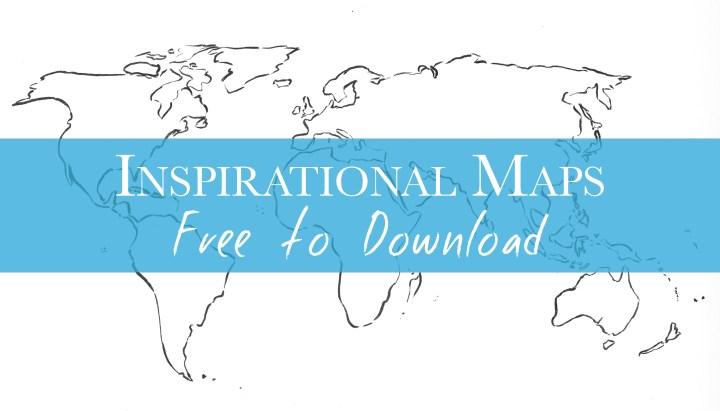 Inspirational Maps on Road Trips around the World - www.RoadTripsaroundtheWorld.com