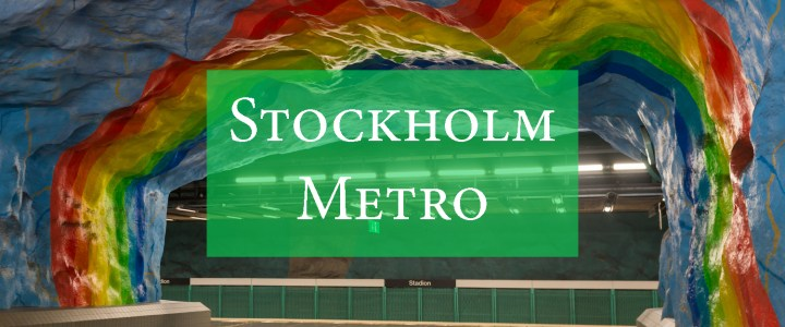 Stockholm Metro Art: the most beautiful stations and more