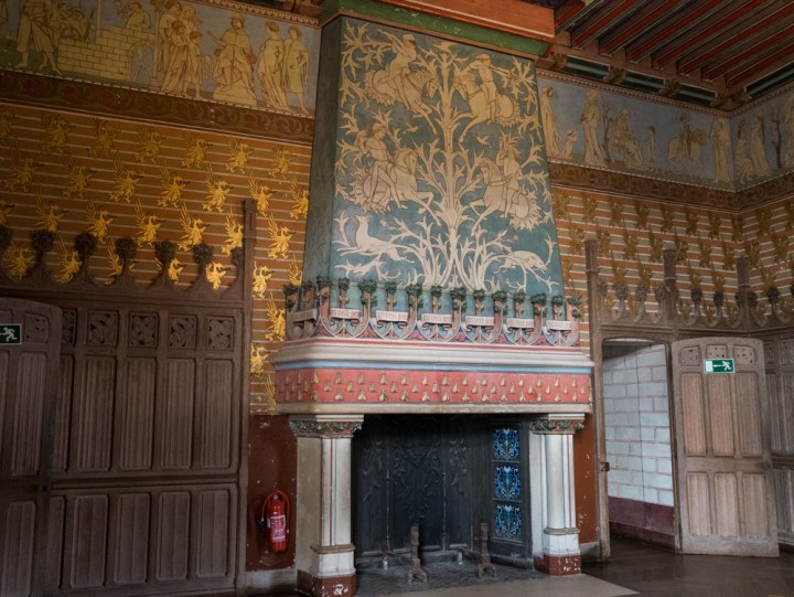 Napoleon III bedroom - Chateau de Pierrefonds, France - www.RoadTripsaroundtheWorld.com
