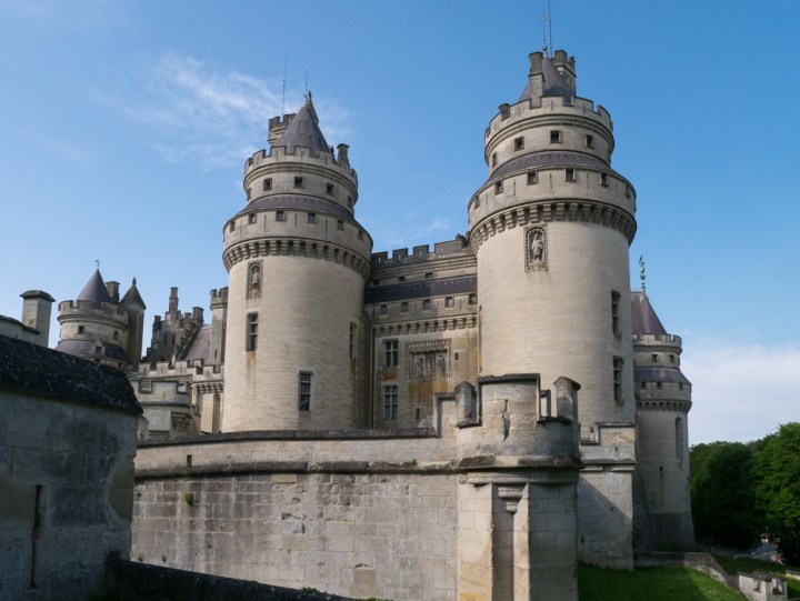The Tours Jules Cesar and Charlemagne - Chateau de Pierrefonds, France - www.RoadTripsaroundtheWorld.com
