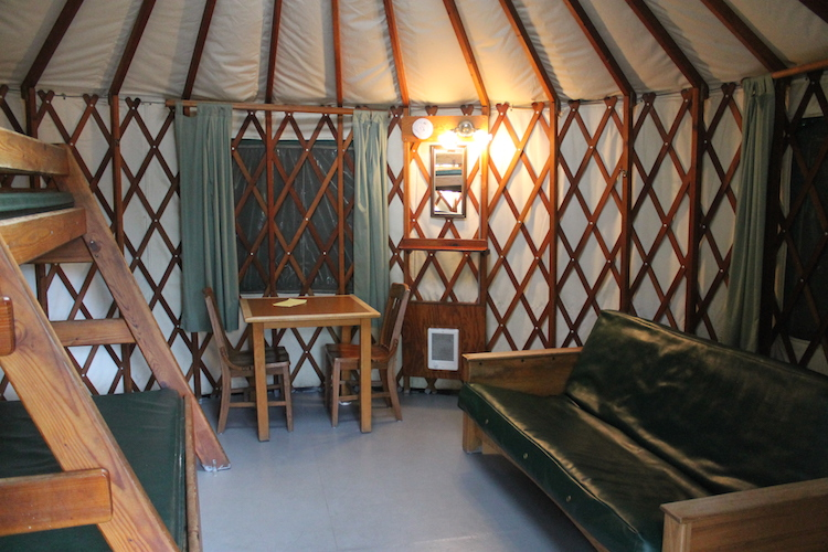 Family Camping In A Yurt Road Trips For Families
