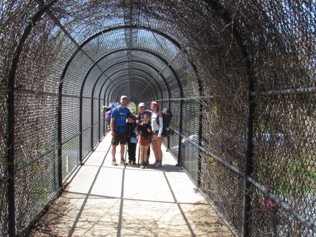 Backpacking with kids Tunnel Crossing- Appalachian Trail