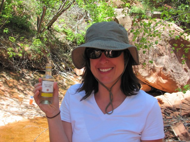 La Verkin Creek Trail in Kolob Canyon: Wine With Lunch in Zion National Park