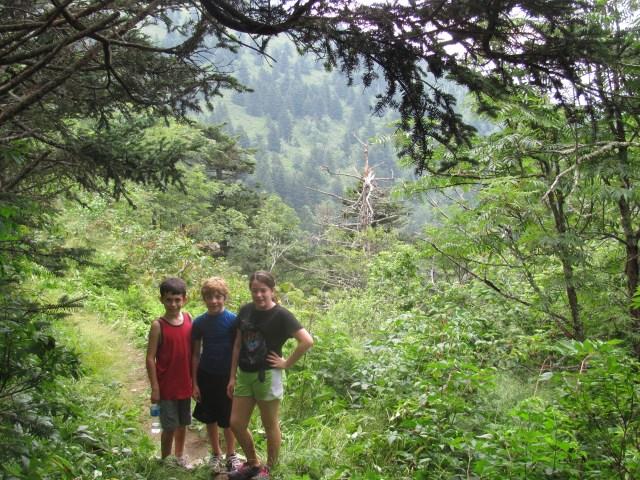 Hiking on the Appalachian Trail