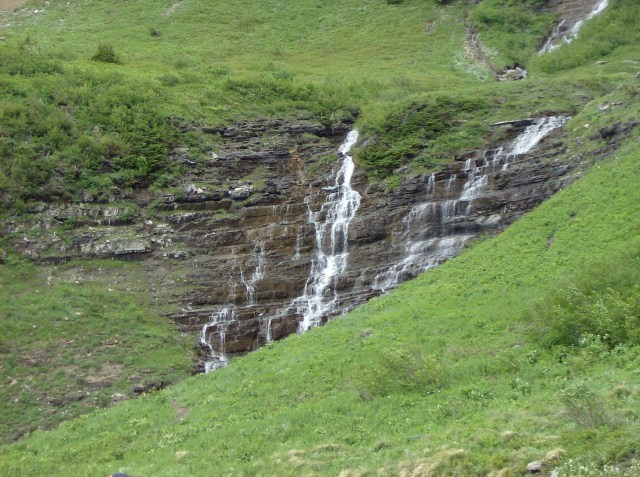 Family Friendly Activities in Glacier: Views Along the Going to the Sun Road