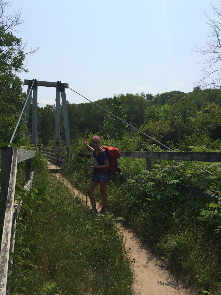 Backpacking the Mansitee River Trail