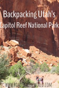 Backpacking Capitol Reef