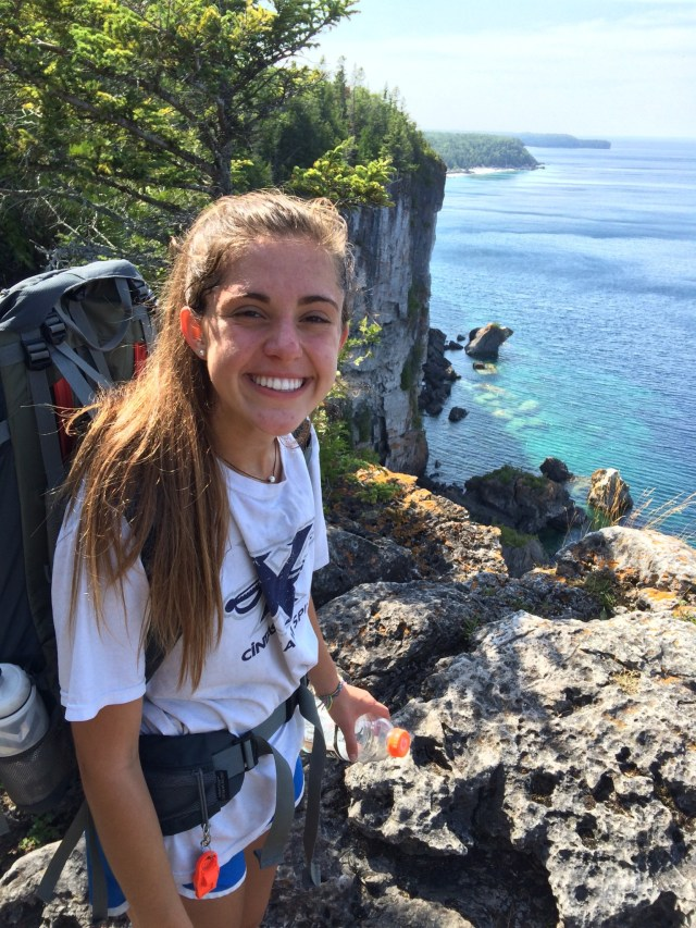 Backpacking Bruce Trail to Stormhaven in Bruce Peninsula National Park