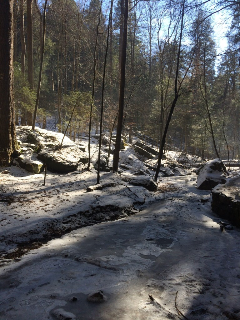 Hocking Hills Winter Hike