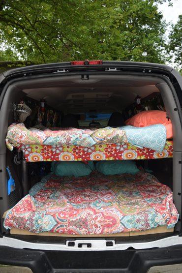 Building Bunk Beds in the Camper Van