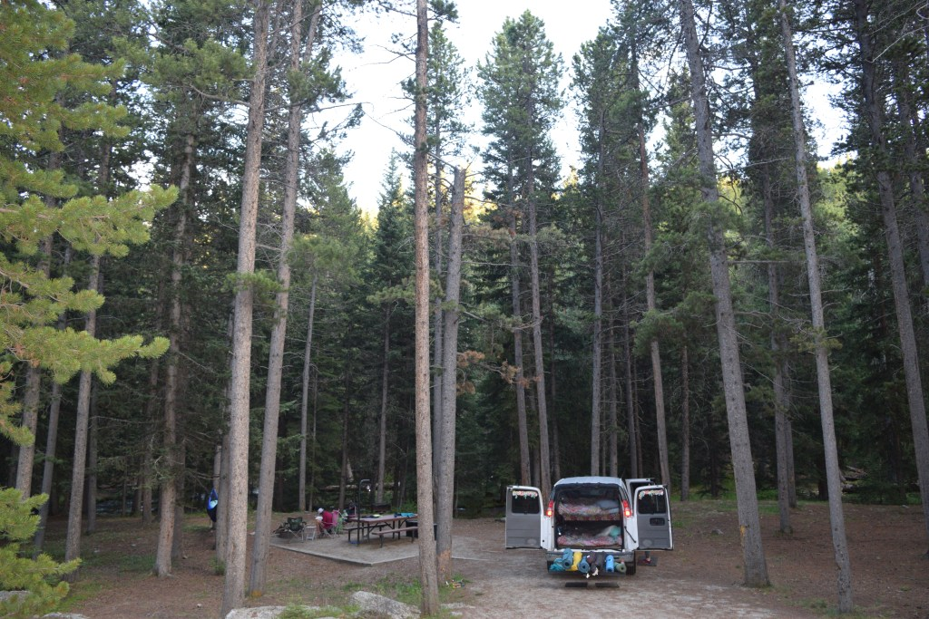 Middle Fork Campground Bighorn National Forest