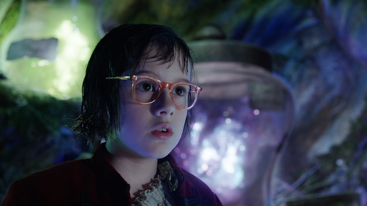 Ruby Barnhill as Sophie in The BFG