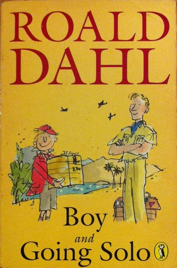 Boy And Going Solo Cover Roald Dahl Fans