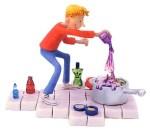 George Figurine