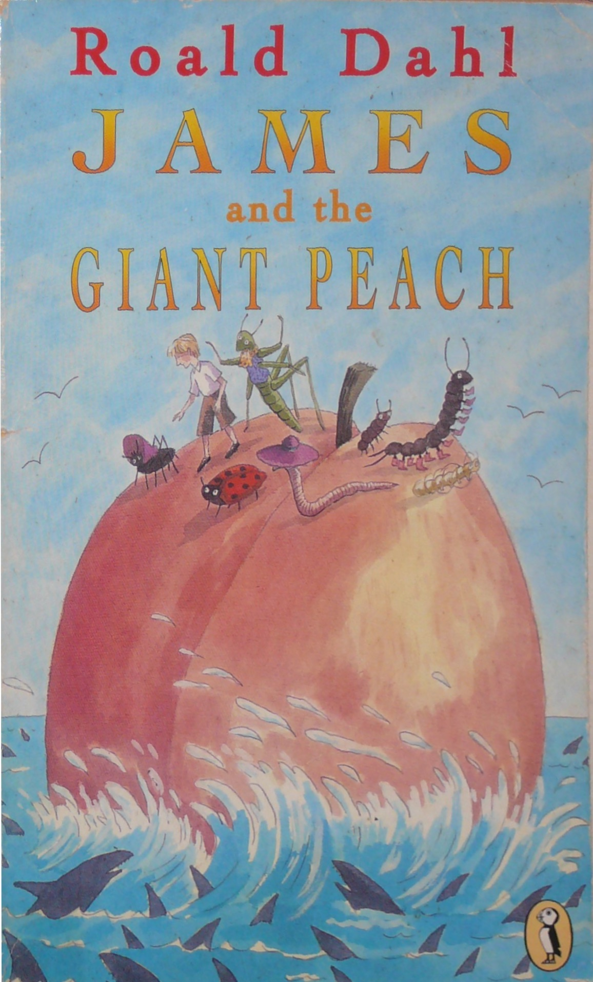 James And The Giant Peach Cover Roald Dahl Fans
