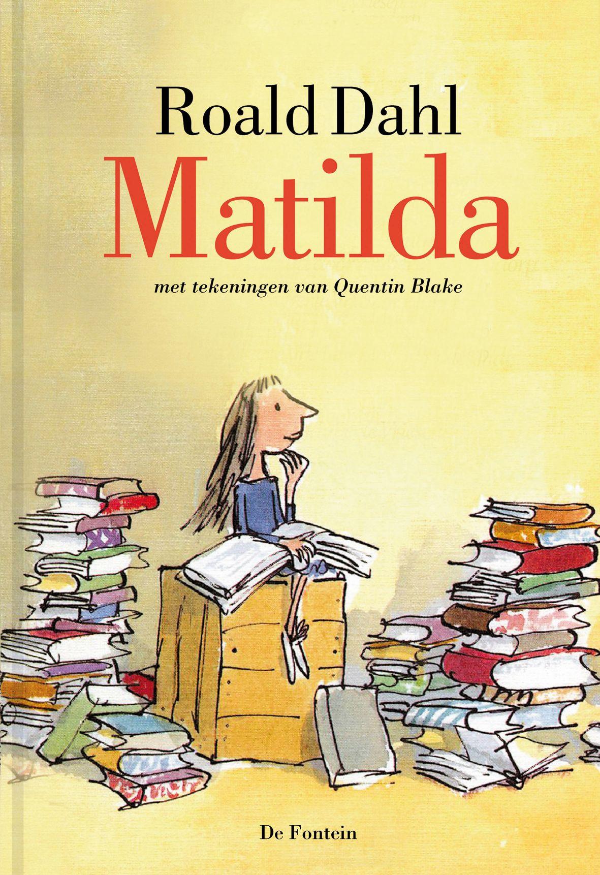 Matilda Cover Roald Dahl Fans