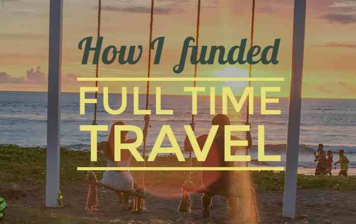 How I Funded Travel