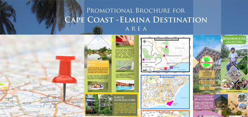 Promotional Brochure for Cape Coast-Elmina Destination Area