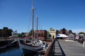 Strolling the docks