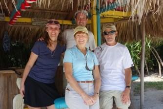 At the tiki bar - Polynesian cruisers meeting up!