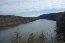 Housatonic river, seen from the Lover's Leap viewpoint