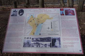 The first map we saw of the park