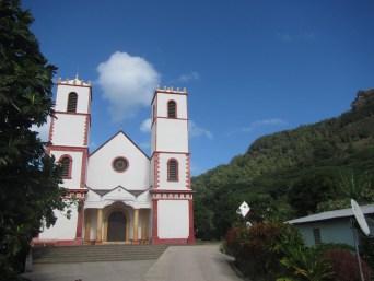 Walking towards churches
