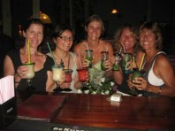 My bachelorette party with sailing friends in St. Martin