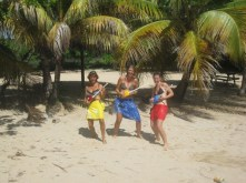 "Fun with ""The Wirie"" girls in the Grenadines, Caribbean"