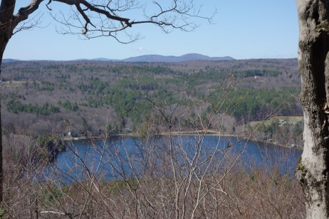 Pelham Lake from one viewpoint
