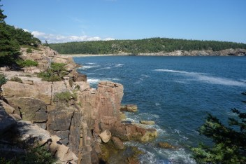Sea cliffs and water is what Acadia is famous for!