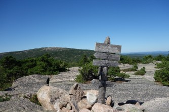The top of Champlain Mountain
