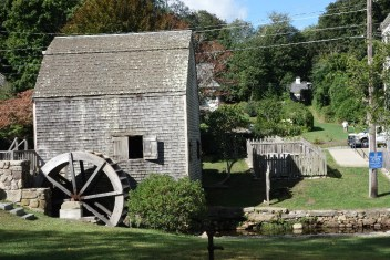 Dexter's grist mill started operating in 1654 and was restored in 1961