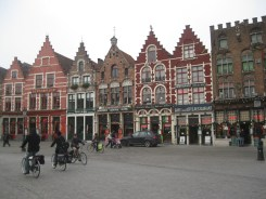 Typical square in Flamish cities, this one is in Bruges