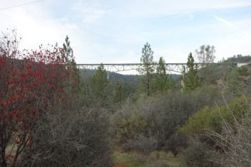 Highway (I-80) bridge