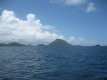 Approaching The Saintes in Guadeloupe, Caribbean Sea