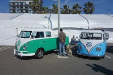 Exhibition with VW buses - very cute!